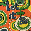 """Early 1970s Beatles lyrics """"Let It Be"""" Psychedelic Beach Towel by Ipanema Originals"""
