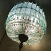 a 444 piece handmade glass pendant lamp from Poliarte
