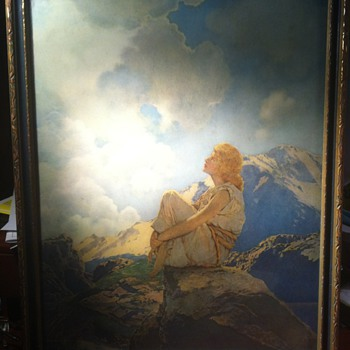 """Maxfiel Parrish print of """"Morning"""" - Posters and Prints"""