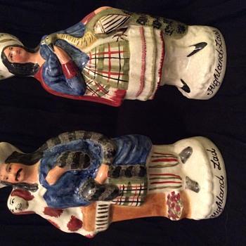 Staffordshire Figurines - Figurines