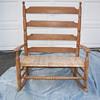 Ladder back settee/loveseat rocking chair