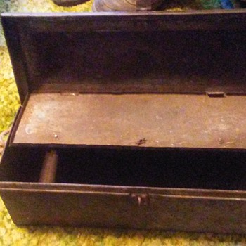 Metal Lunch box or toolbox does anyone know