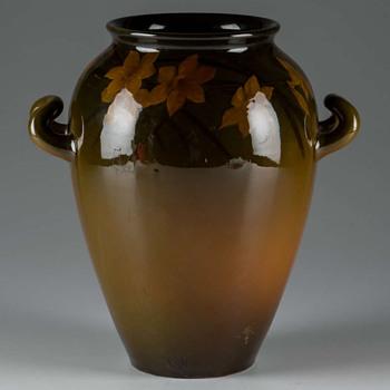 Gorgeous 1896 Rookwood Vase 581E - Pottery
