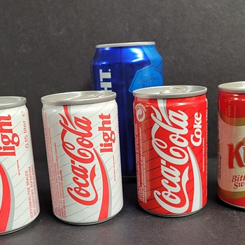 Some Interesting Cans - Coca-Cola