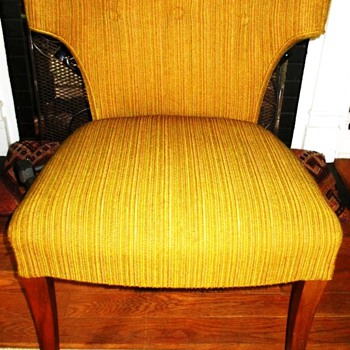 My Groovy Retro Upholstered Chair - Furniture