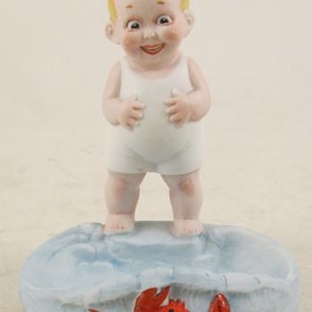Crab Boy Dish - Figurines