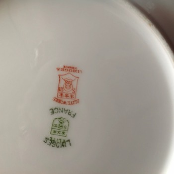 Plates by elite works, limoge - China and Dinnerware
