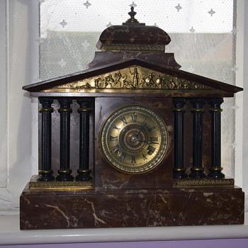 Marble, Ansonia clock - Clocks