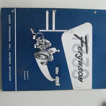 Antique Ferguson Massey Tractor Catalogs - Tractors