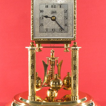 Schatz Square Dial 400 Day Clock Made in 1953