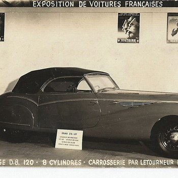 "Delage D8 120""1937-40"" - Photographs"