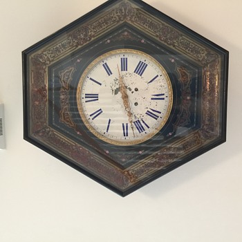 Antique French wound-up Clock  - Clocks