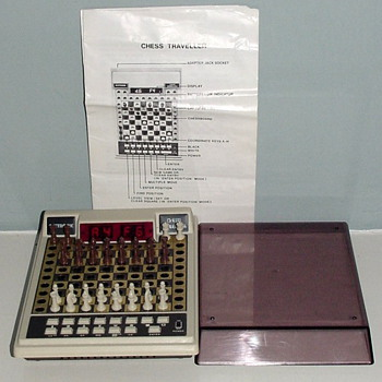 1980-vintage acetronic chess pocket computer-led-8 levels.