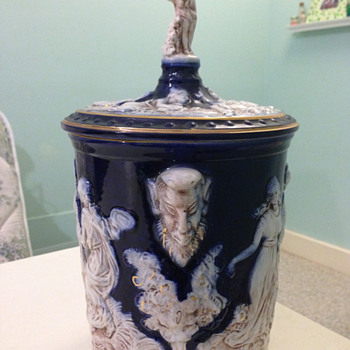 Porcelain jar or ice bucket, Italy - China and Dinnerware