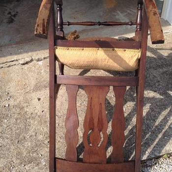 Dark Antique or Vintage Rocking Chair ?