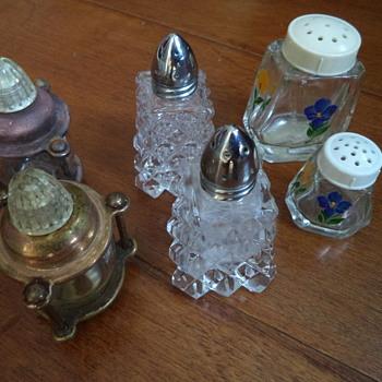 Vintage Salt and Pepper Shakers - Kitchen