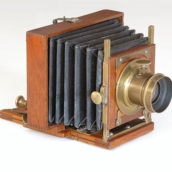 E. & H.T. Anthony Patent Bijou Camera, c.1886 - Cameras