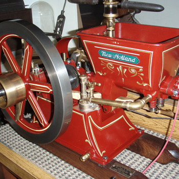 Hew Holland 1/2 Scale Hit/Miss Gas Engine - Tools and Hardware