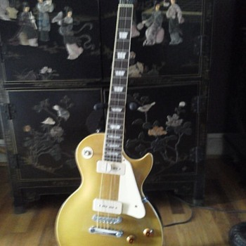 56' Gibson Les Paul Gold Top - Guitars