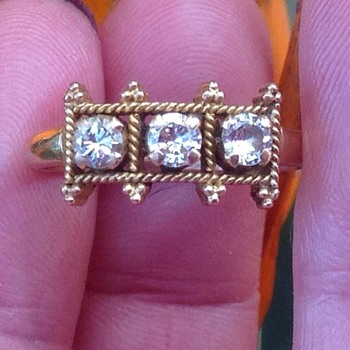 Gold and Diamond Ring - Fine Jewelry
