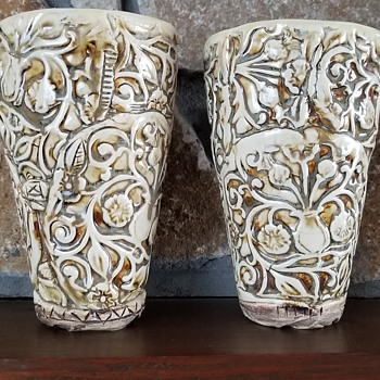 Pair of Vases - Pottery