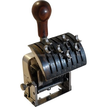 American Numbering Machine Co Model 43 - Office