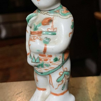 Small Chinese Figurine - Famille Rose? - Asian
