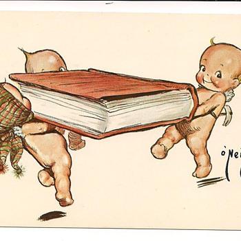 Rose O'Neill Kewpie Vintage Postcards