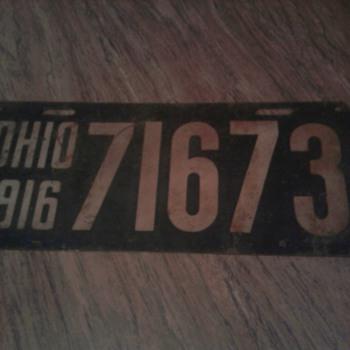 Various Ohio License Plates
