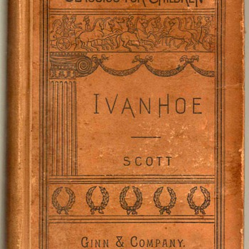 "1893 - ""Ivanhoe"" by Sir Walter Scott - Books"