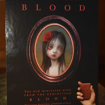 BLOOD - a poster for a new book by Mark Ryder
