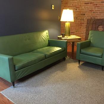 1959 Sofa and Chair set by Gardner Craftsmen, Inc. - Furniture