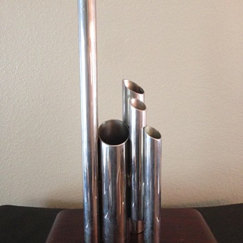 Metal Pipe Sculpture? - Mid-Century Modern