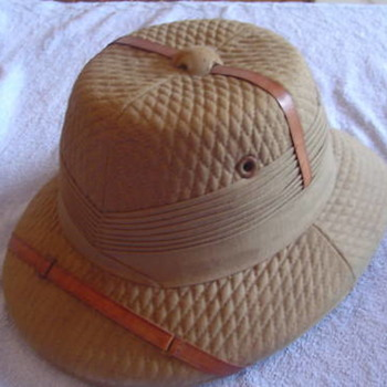 Pith Helmet from the Days of Lawrence of Arabia