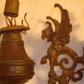 Gargoyle Oil Lamps - Lamps