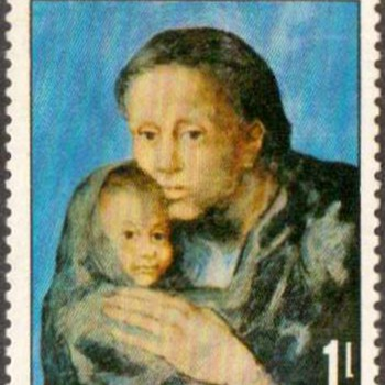 "Maldive Islds. - ""Pablo Picasso"" Postage Stamp - Stamps"