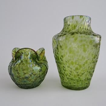 Loetz Diaspora on Diana Ciselé - Art Glass