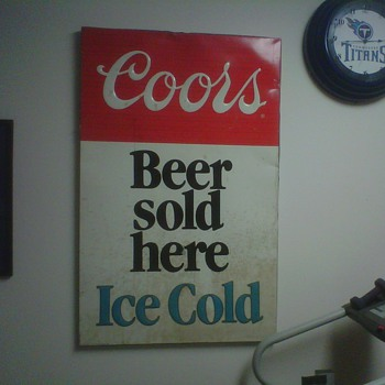 Beer Sign - Advertising
