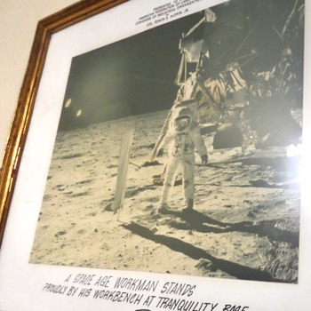 Apollo 11 Mission Framed Photo