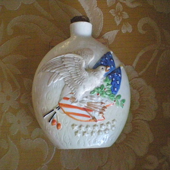 1857 Patriotic Flask - Who made it? - Bottles