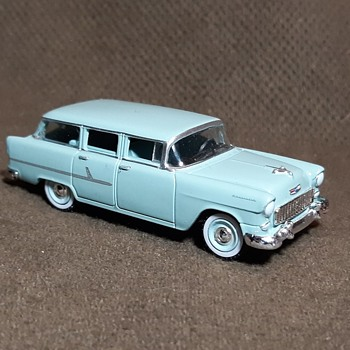 Greenlight Estate Wagons Series 1955 Chevrolet Two-Ten Handyman 1/64 Scale - Model Cars