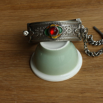 Antique silver Berber bracelet - Fine Jewelry