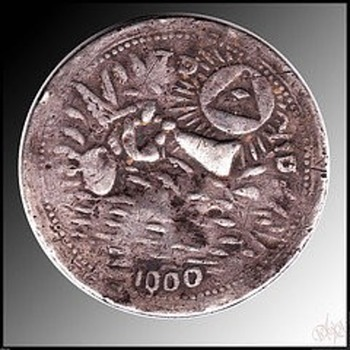 Senor patriarca sn jose T.D Y.D 1000yrs amulet-silver-shaker-coin