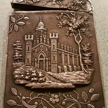 Calling Card case - what are the buildings? - Accessories