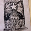 Original art work for a Book Plate of the Great Granddaughter White Star Steamboats