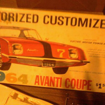Studebaker Advanti...Who made this kit? - Model Cars