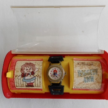 Raggedy Ann Wristwatch - Wristwatches