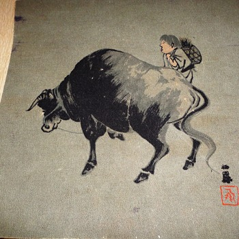 Bull Painting - Fine Art