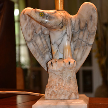 Alabaster Eagle Lamps.... - Lamps