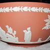"Wedgwood 8"" Terracotta jasperware bowl"